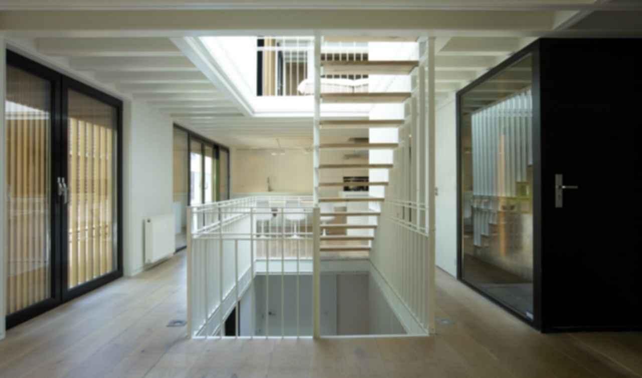 Water Villa - Interior/Stairwell