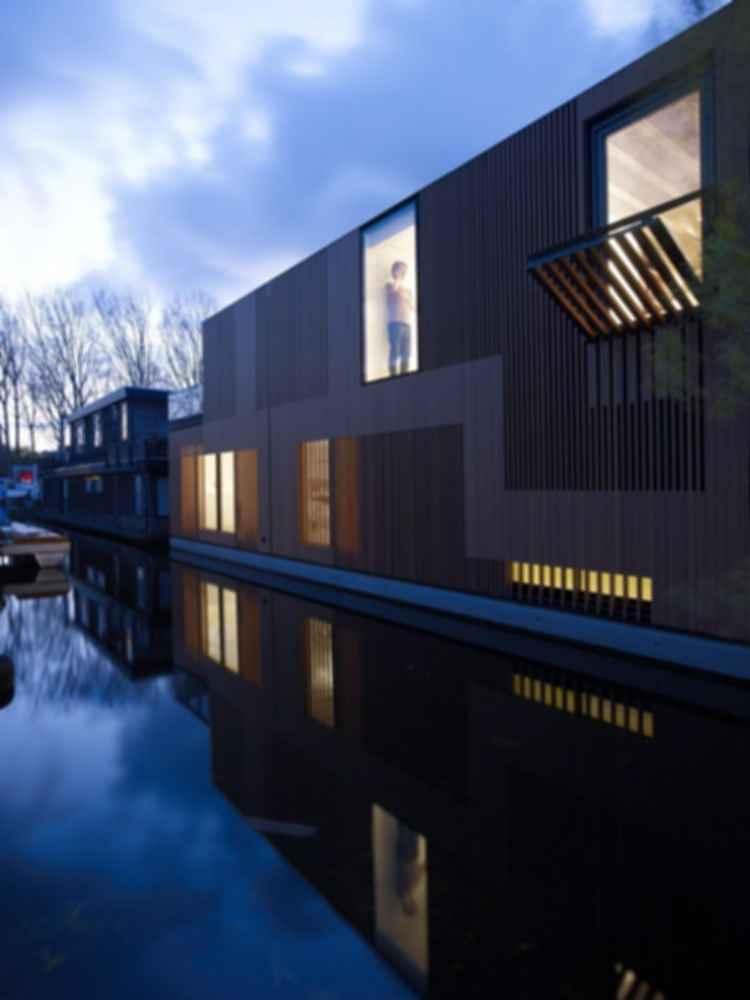 Water Villa- Exterior at Night