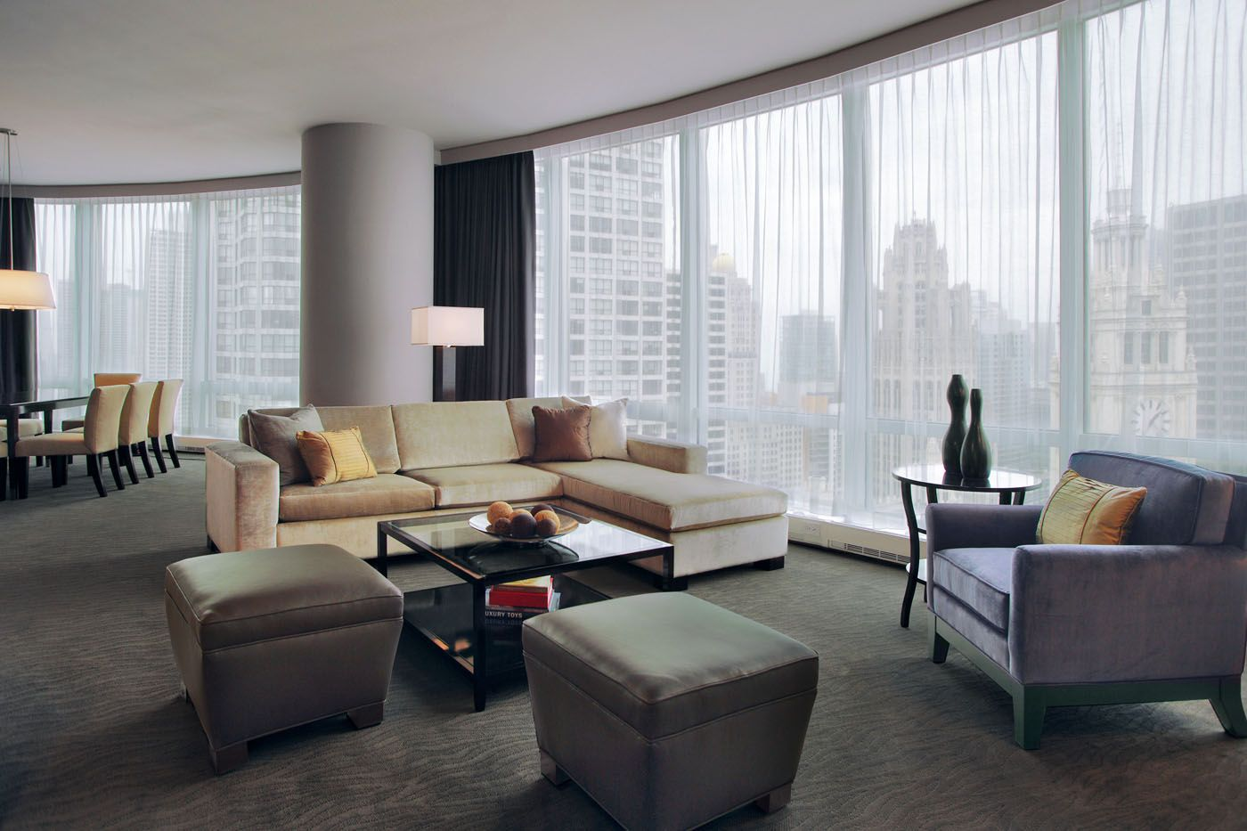 Trump International Hotel And Tower Chicago Interior Lounge