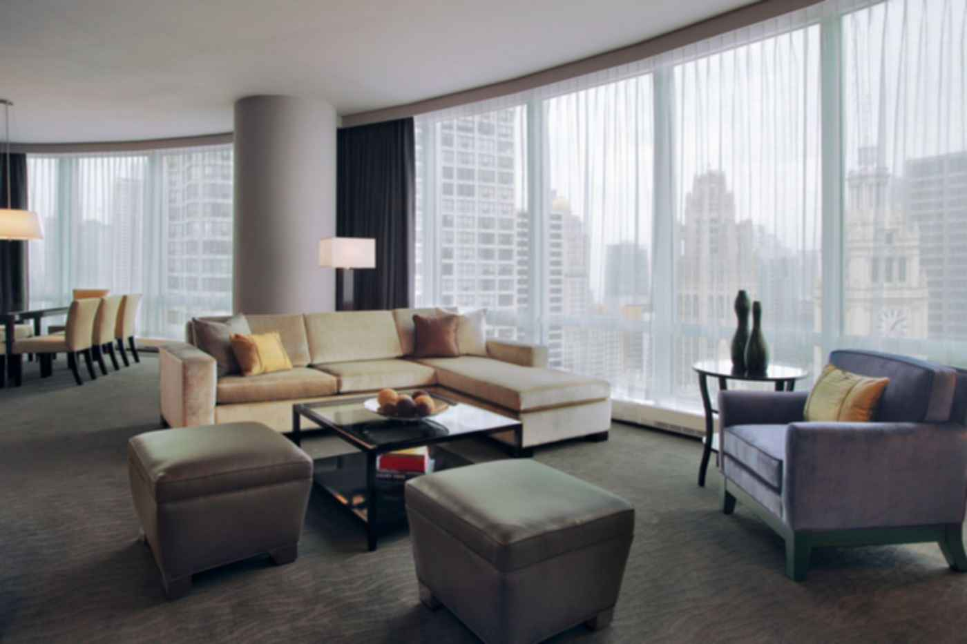 Trump International Hotel and Tower, Chicago - Interior/Lounge