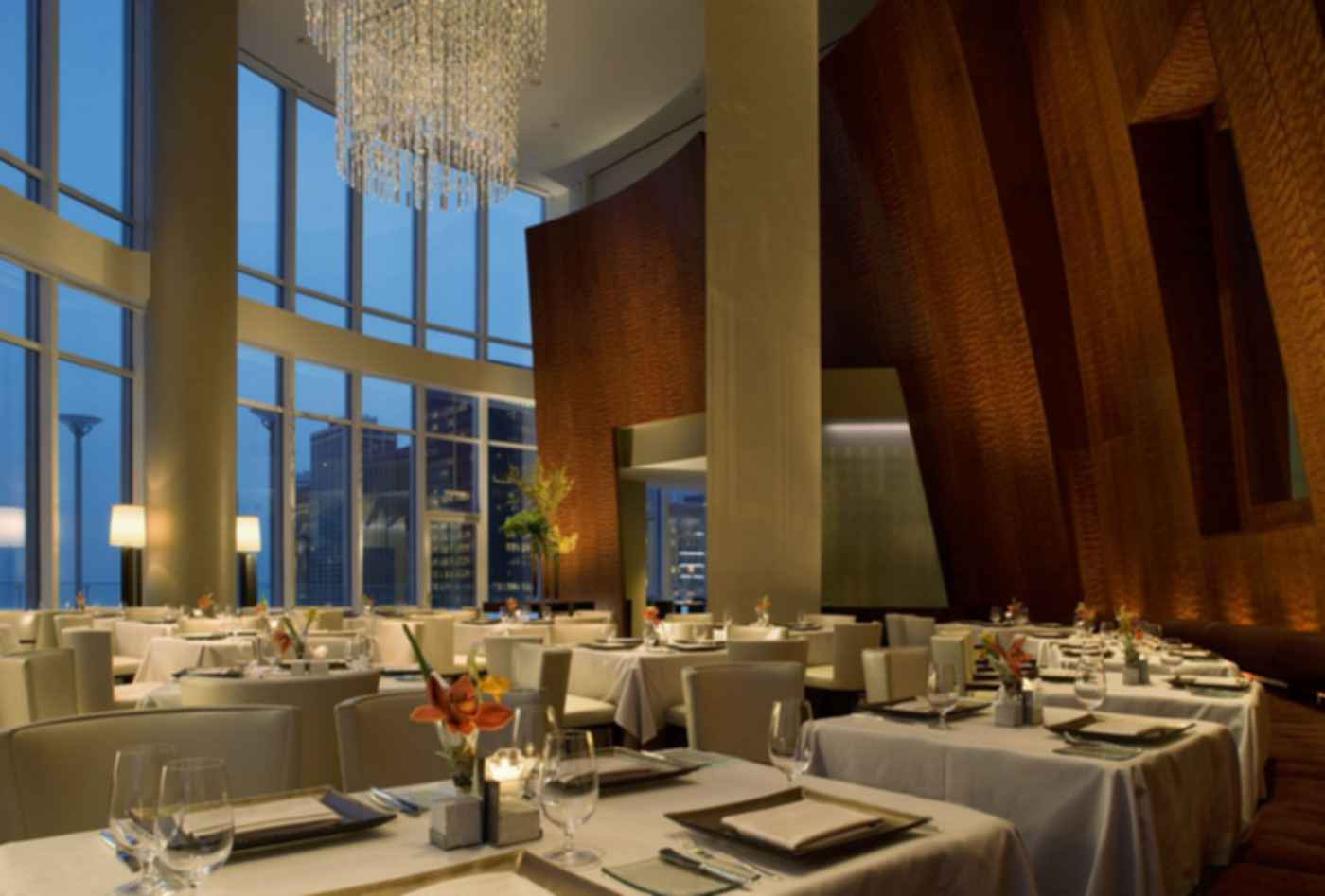 Trump International Hotel and Tower, Chicago - Interior/Dining Room