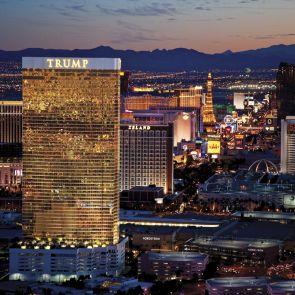 Trump International Hotel, Las Vegas - Exterior at Night/Landscape