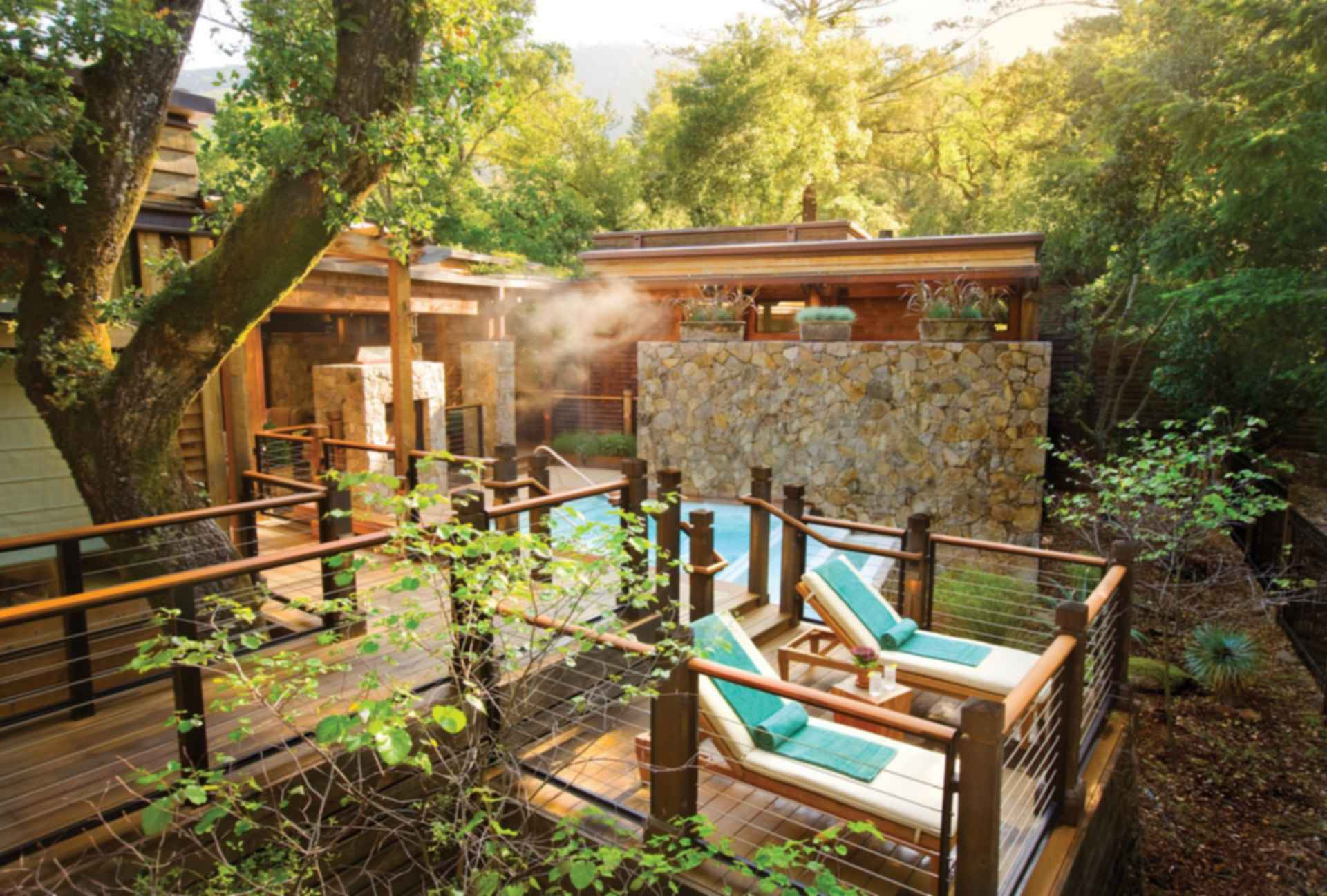 Calistoga Ranch - Exterior/Pool Area