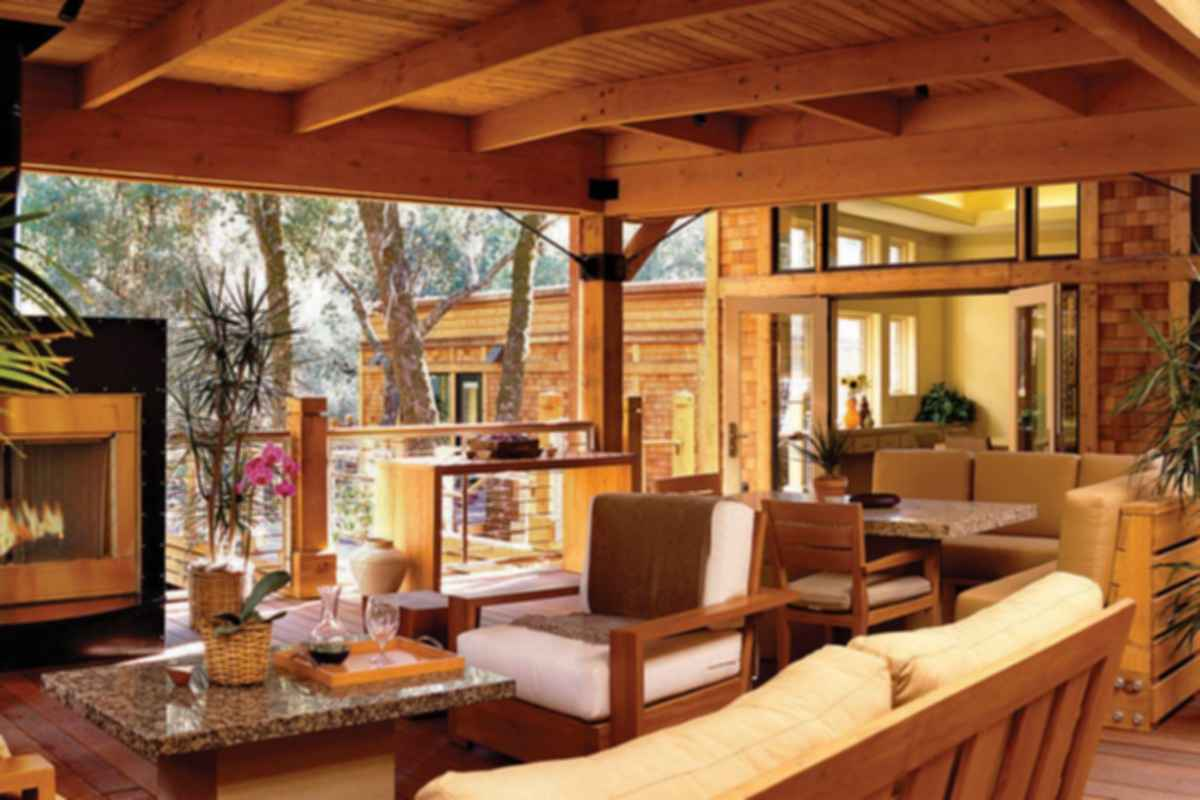 Calistoga Ranch - Outdoor Area/Decking