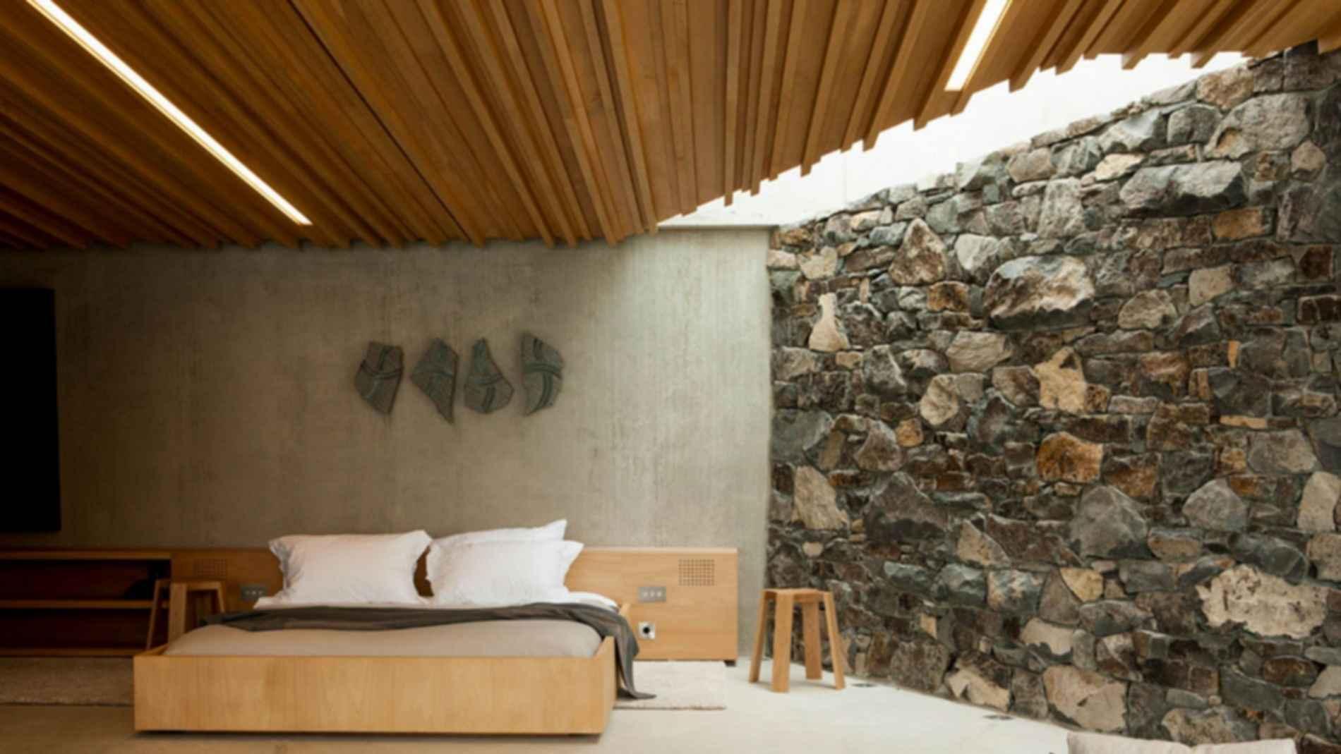 Seascape Retreat - Interior Walls