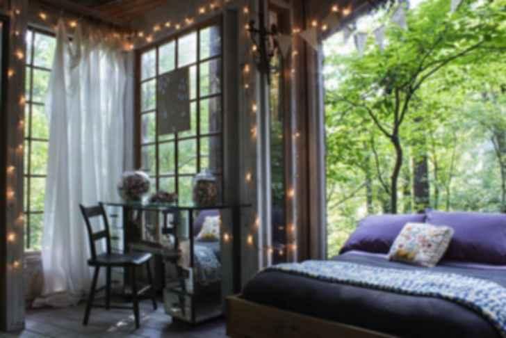 Atlanta Treehouse - Interior/Bedroom