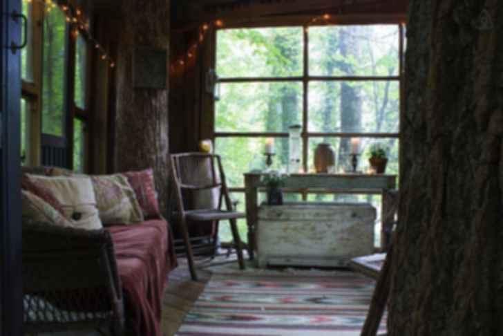 Atlanta Treehouse - Interior/Lounge