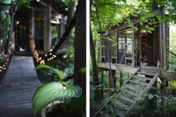 Atlanta Treehouse - Exterior/Walkway
