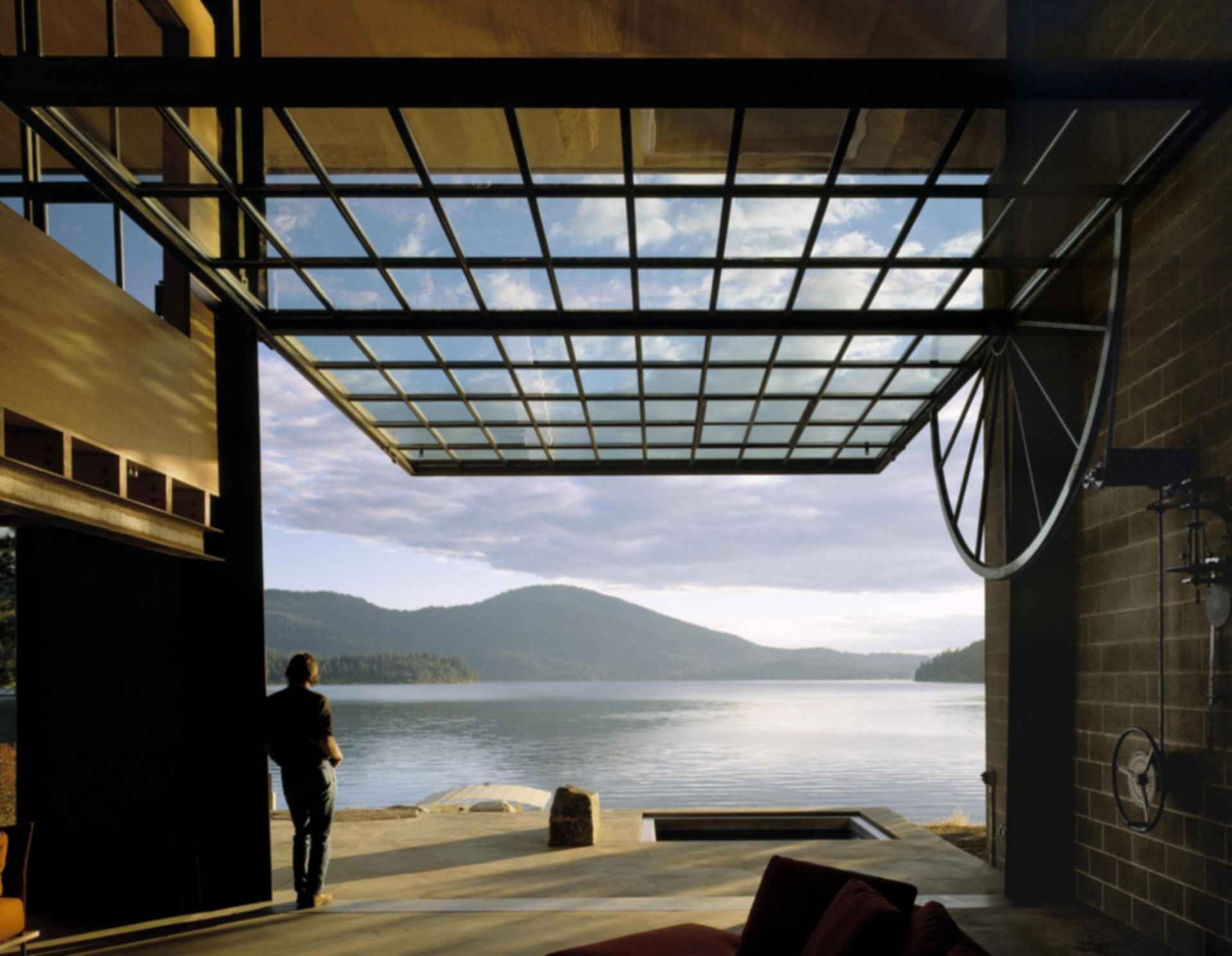 Chicken Point Cabin - Interior/View of the Lake