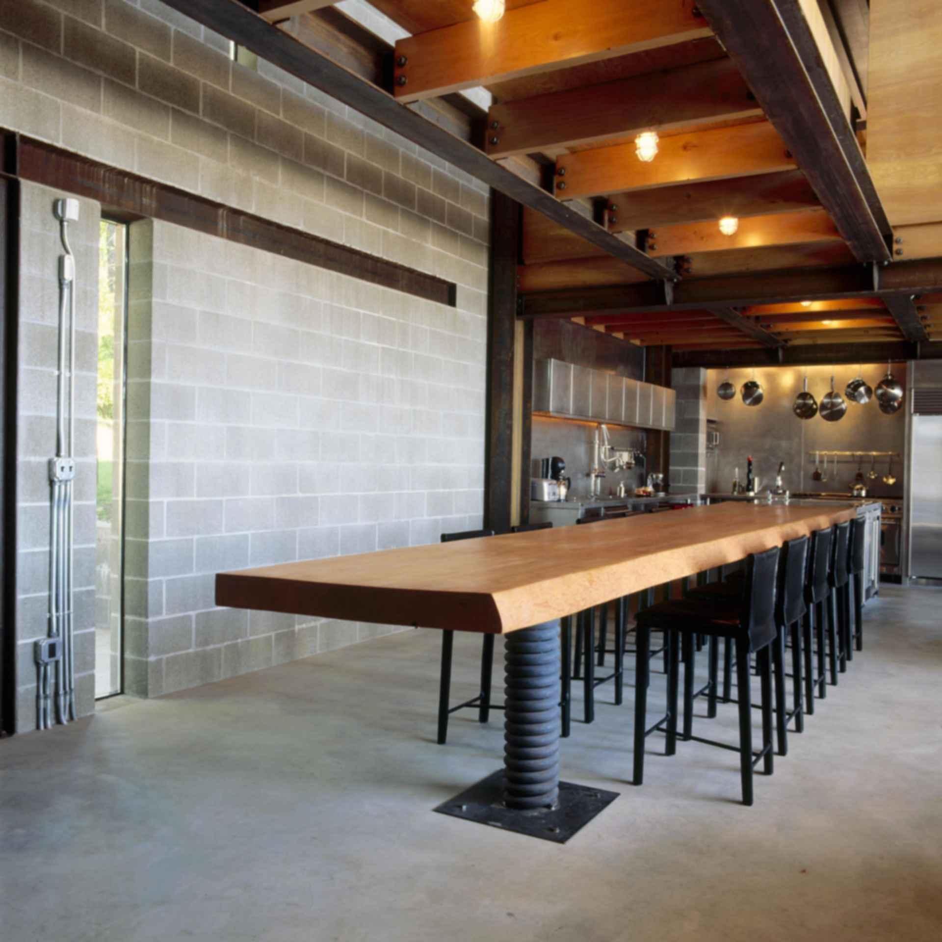 Chicken Point Cabin - Interior/Table