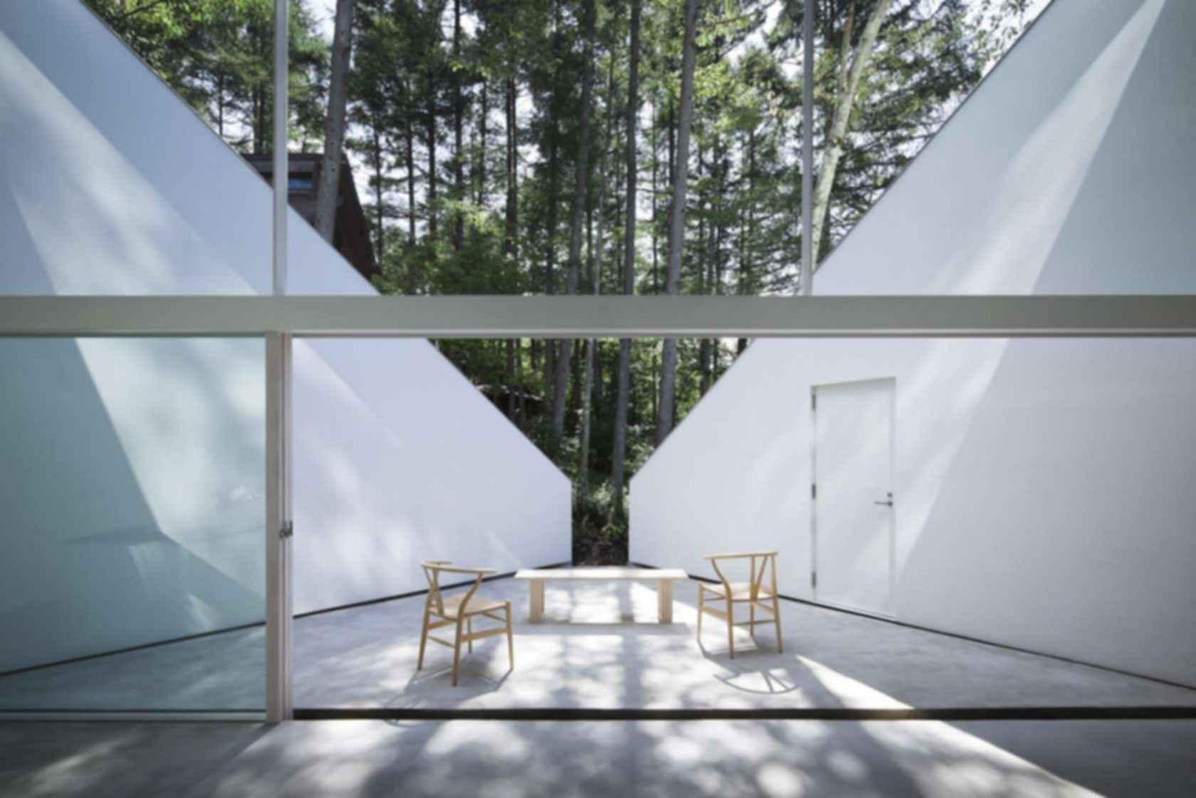 Forest Bath House - Outdoor Area