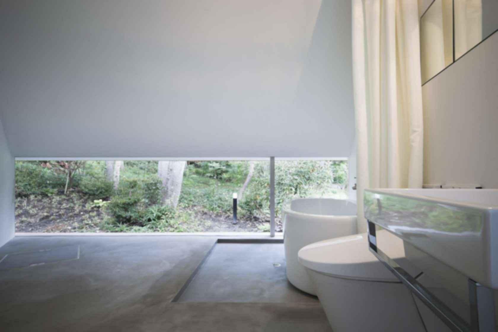 Forest Bath House - Interior/Bathroom
