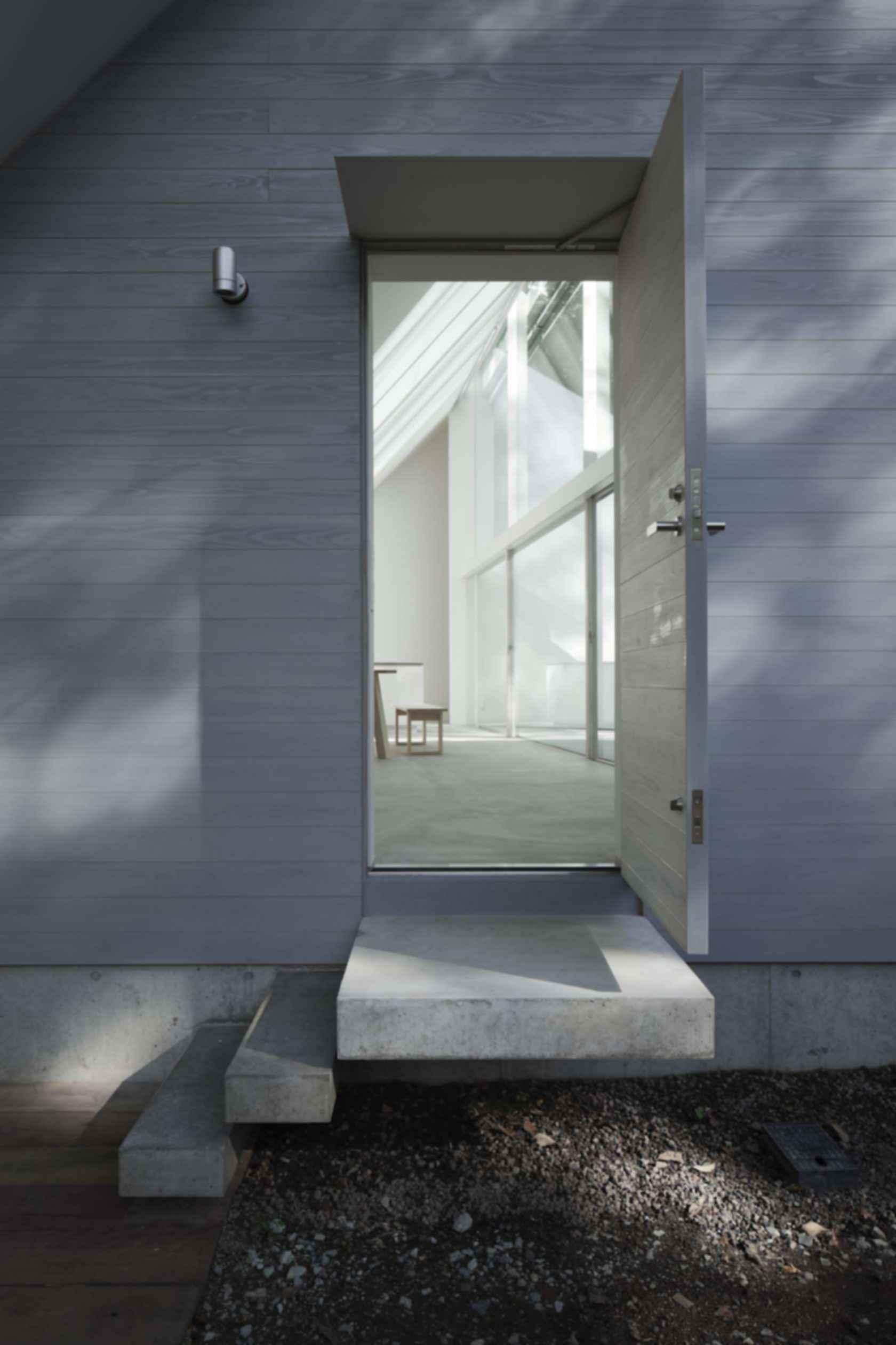 Forest Bath House - Entrance