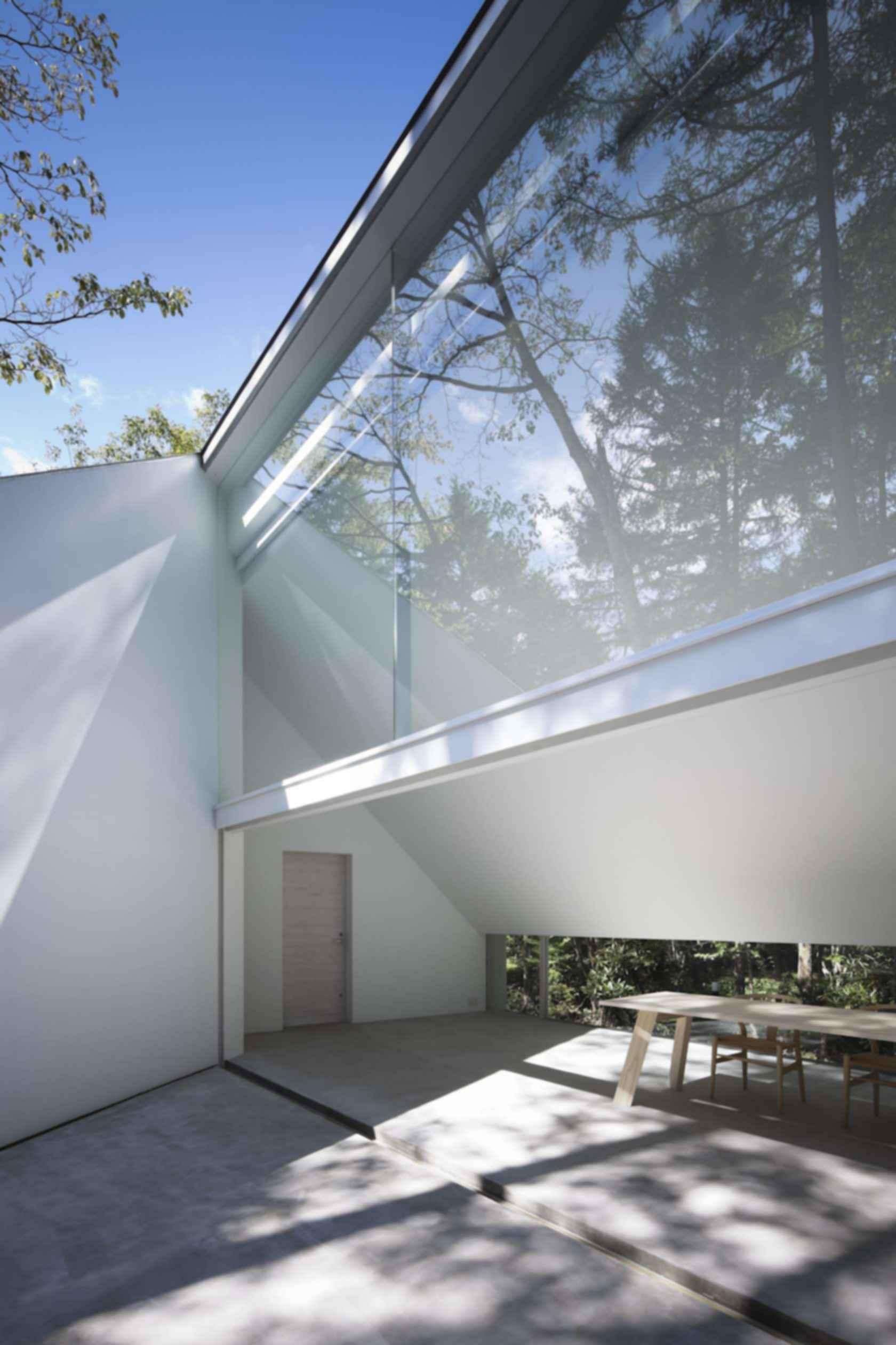 Forest Bath House - Exterior/Interior