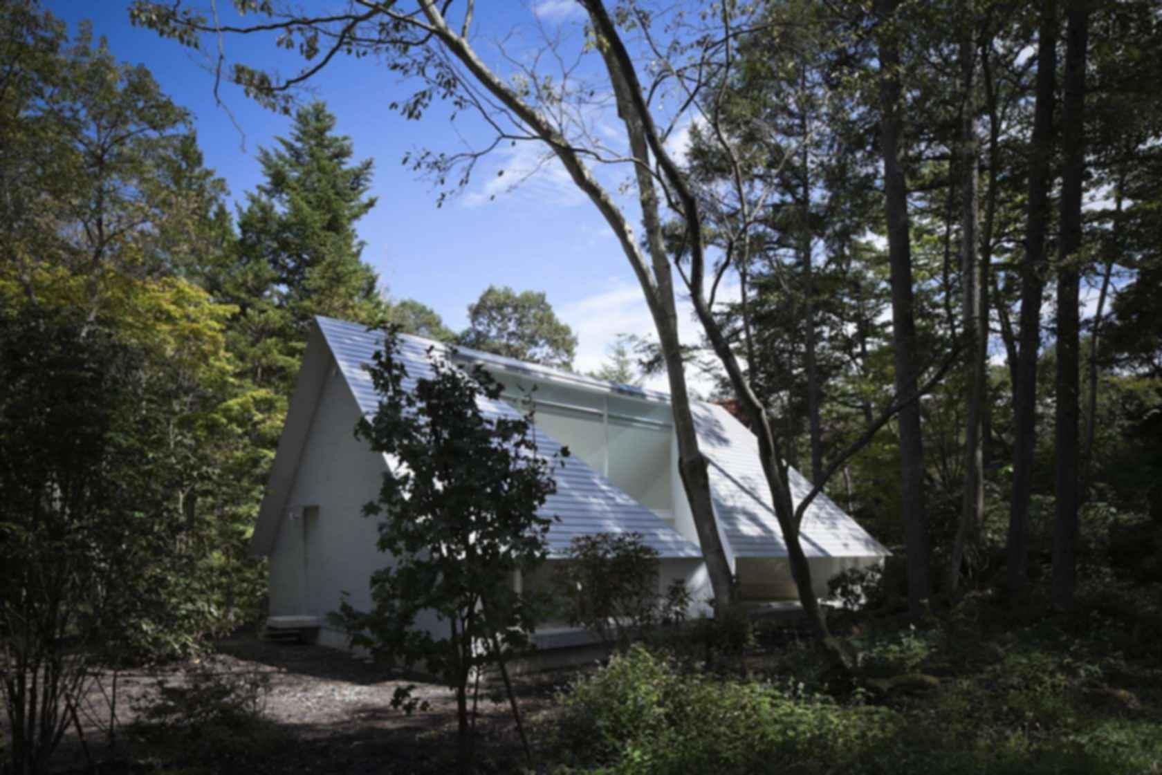 Forest Bath House - Exterior