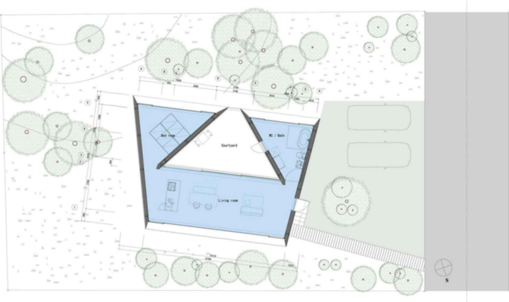 Forest Bath House - Site Plan