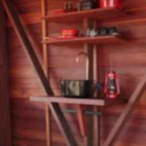 Mudgee Permanent Camping - Interior/Shelf