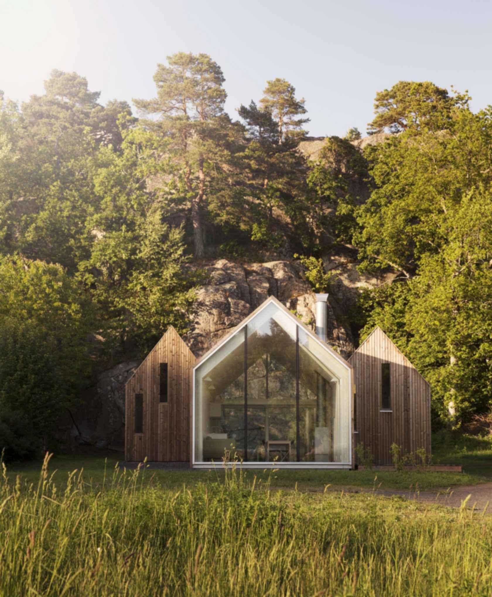 Micro Cluster Cabins - Exterior/Landscape