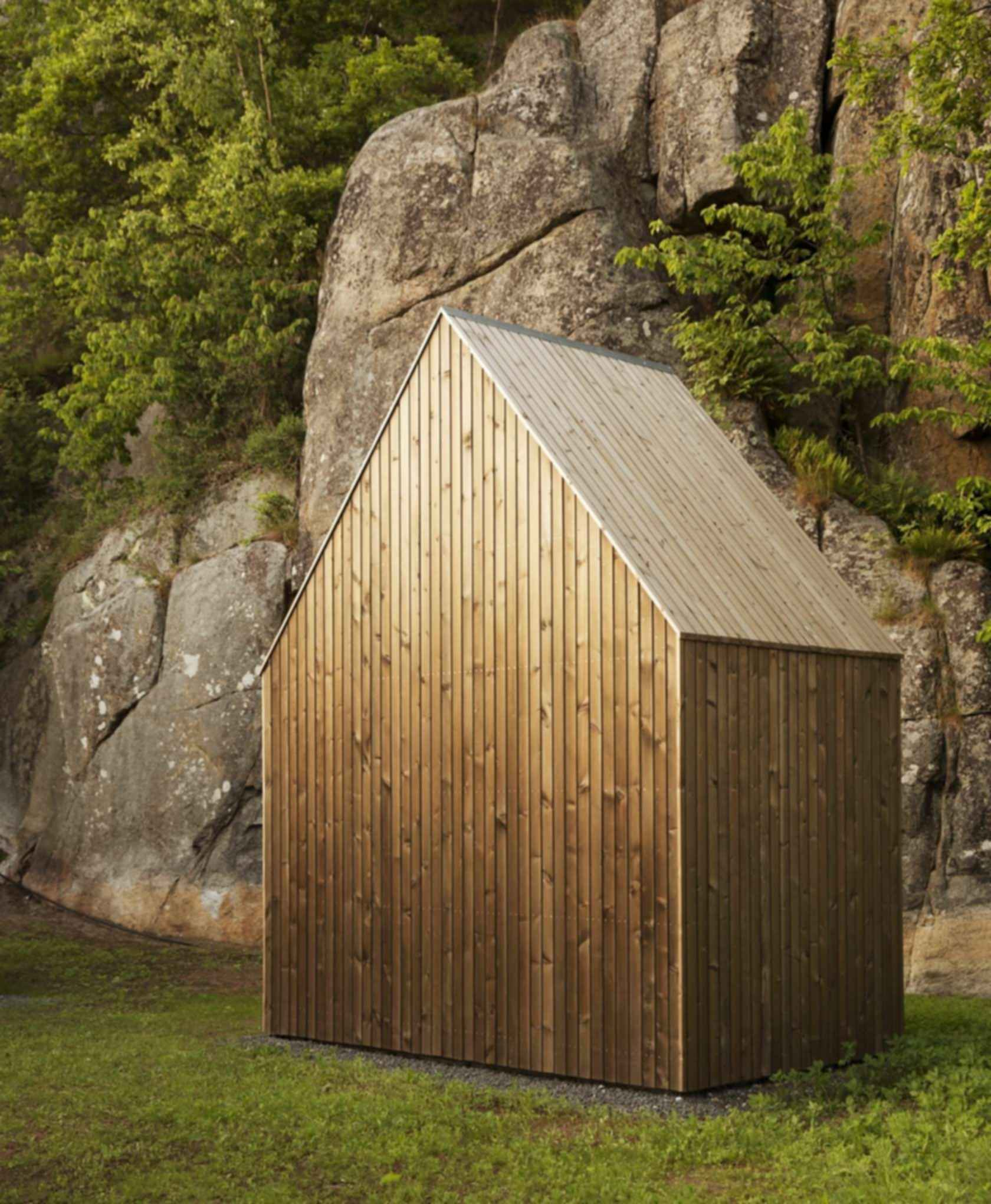 Micro Cluster Cabins - Exterior