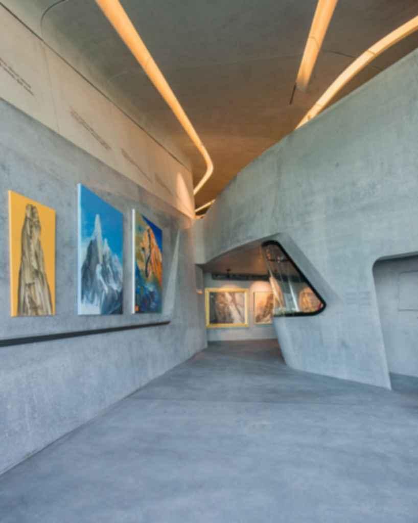 Messner Mountain Museum Corones - Interior