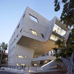 Issam Fares Institute - Exterior/Windows