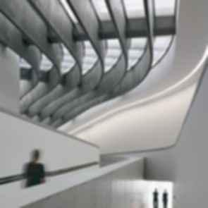 MAXXI Museum - Interior/Walkway
