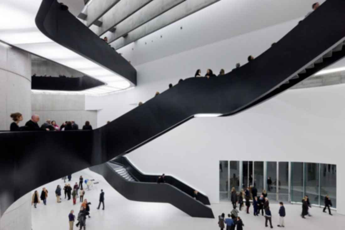MAXXI Museum - Interior/Stairs