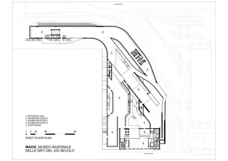MAXXI Museum - Floor Plan