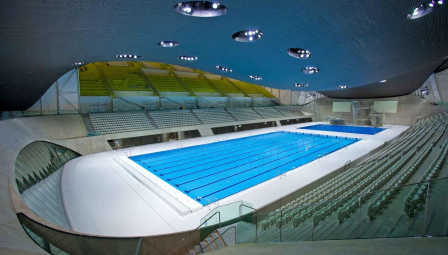 London Aquatics Centre - Interior/Pool