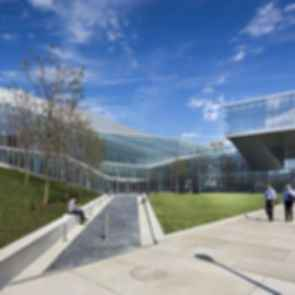 Krishna P. Singh Center for Nanotechnology - Exterior/Entrance