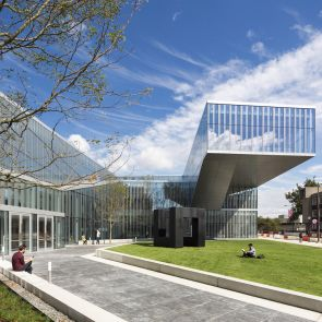 Krishna P. Singh Center for Nanotechnology - Exterior/Entrance