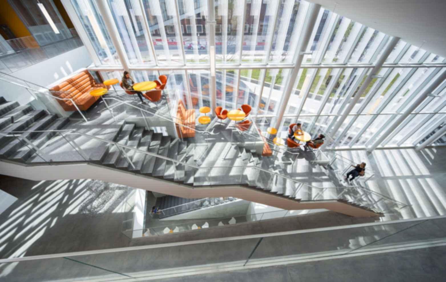 Krishna P. Singh Center for Nanotechnology - Interior/Stairs