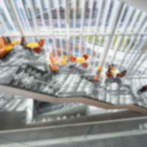 Krishna P. Singh Center for Nanotechnology - Interior/Stairs