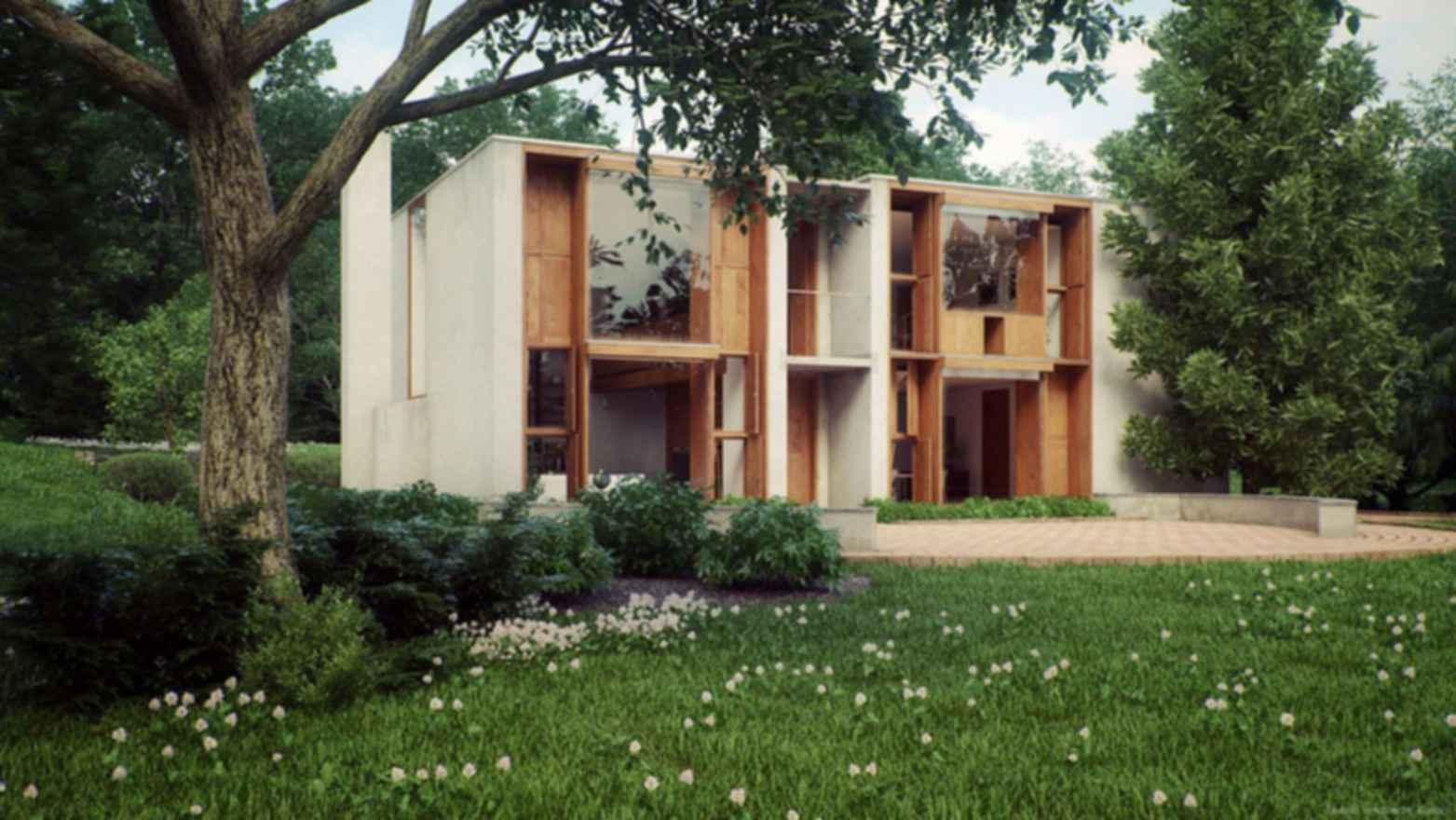 Esherick House - Exterior