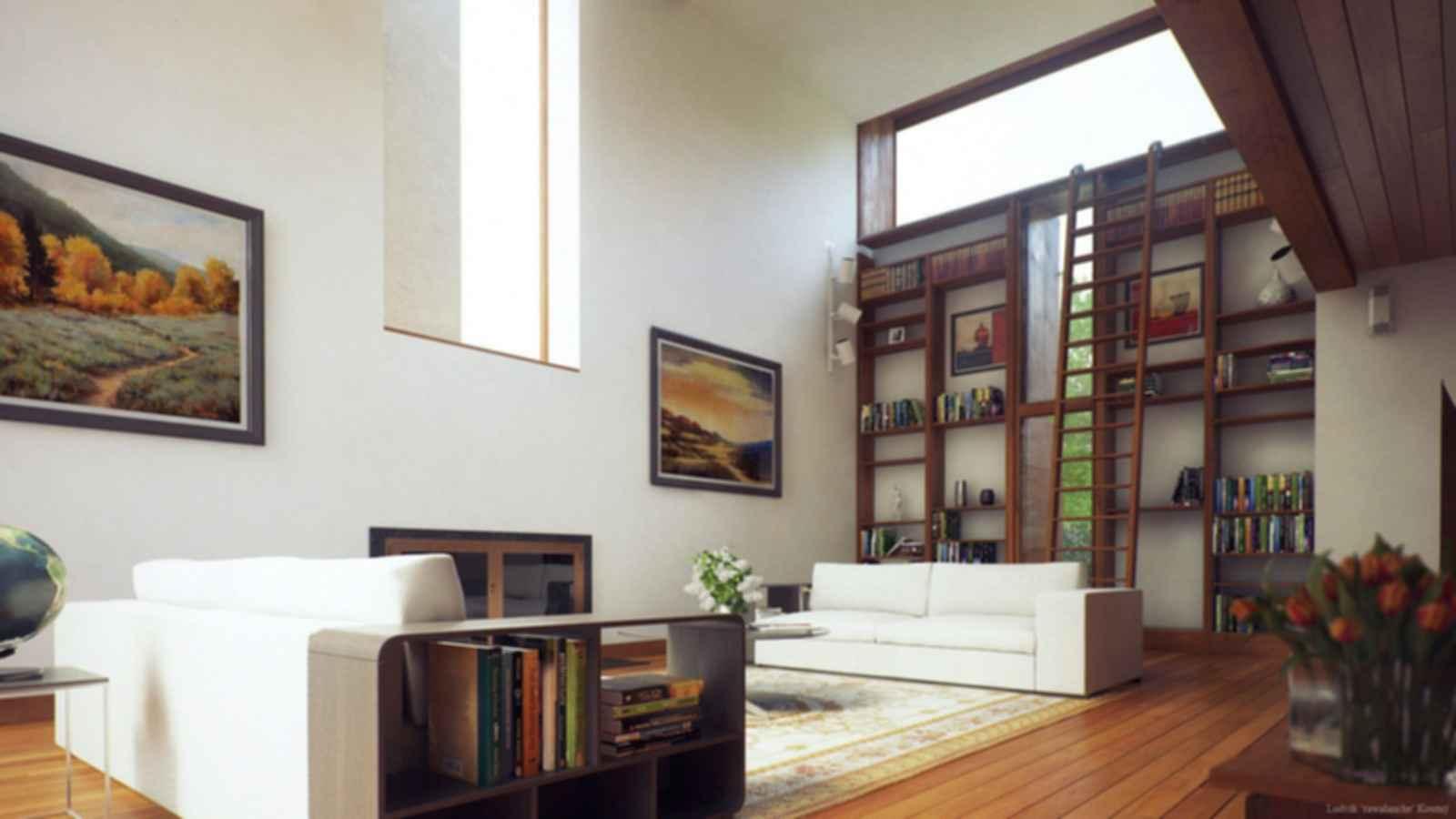 Esherick House - Lounge