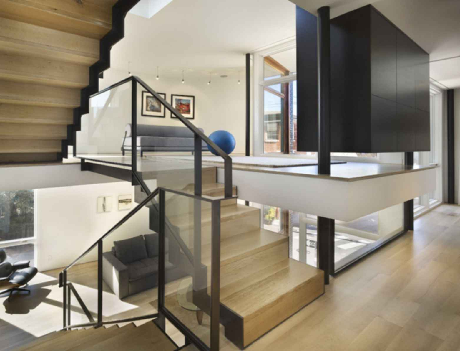 Split Level House - Interior