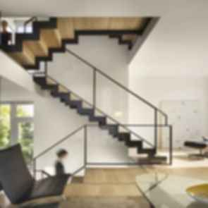 Split Level House - Interior/Stairs