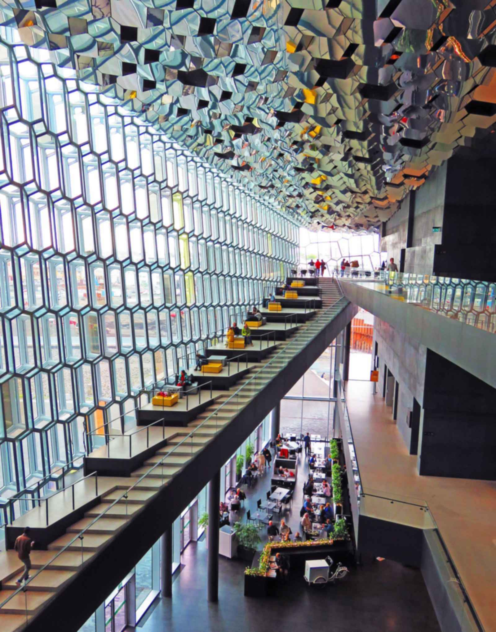 Harpa Concert Hall - Atrium