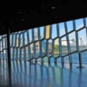 Harpa Concert Hall - Interior Windows