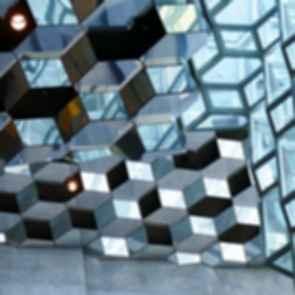Harpa Concert Hall - Mirror Atrium