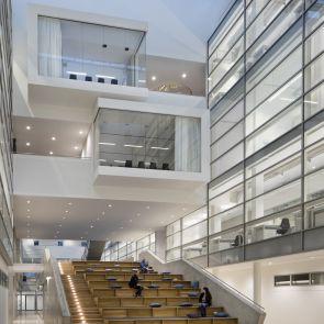 Center of Brain, Behavior and Metabolism - Interior/Stairs