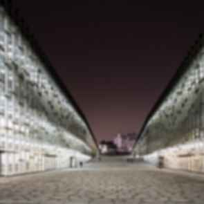Ewha Womans University - Exterior at Night/Entrance