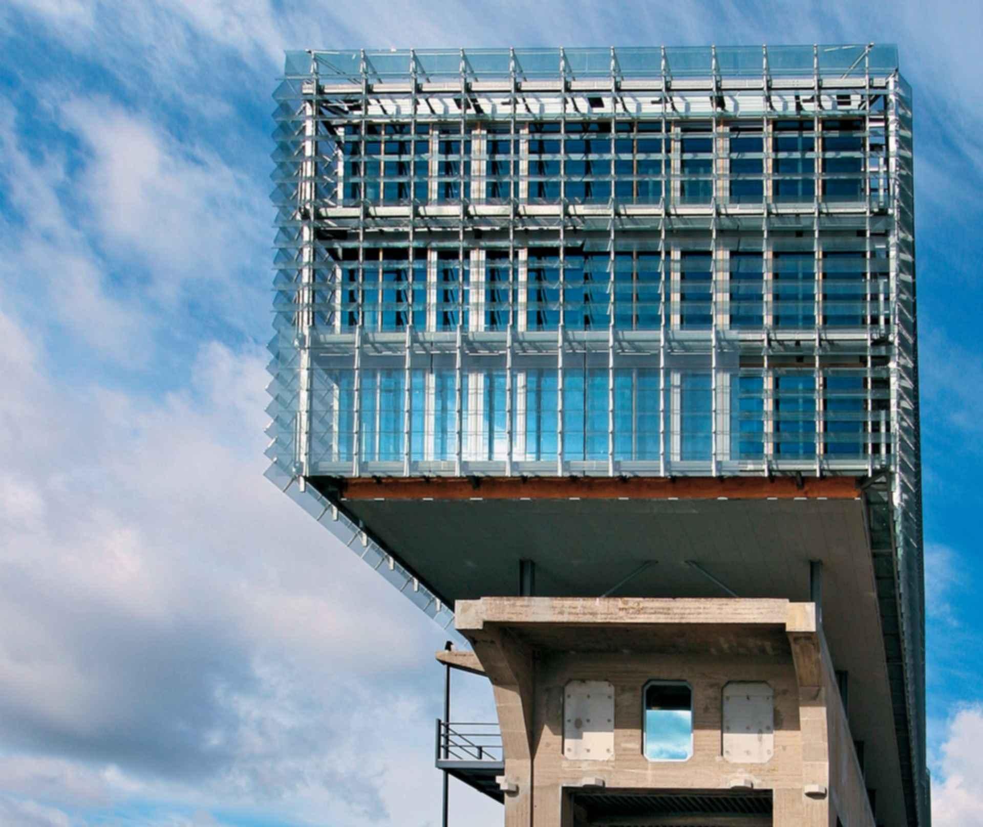Kraanspoor Office Building - Exterior