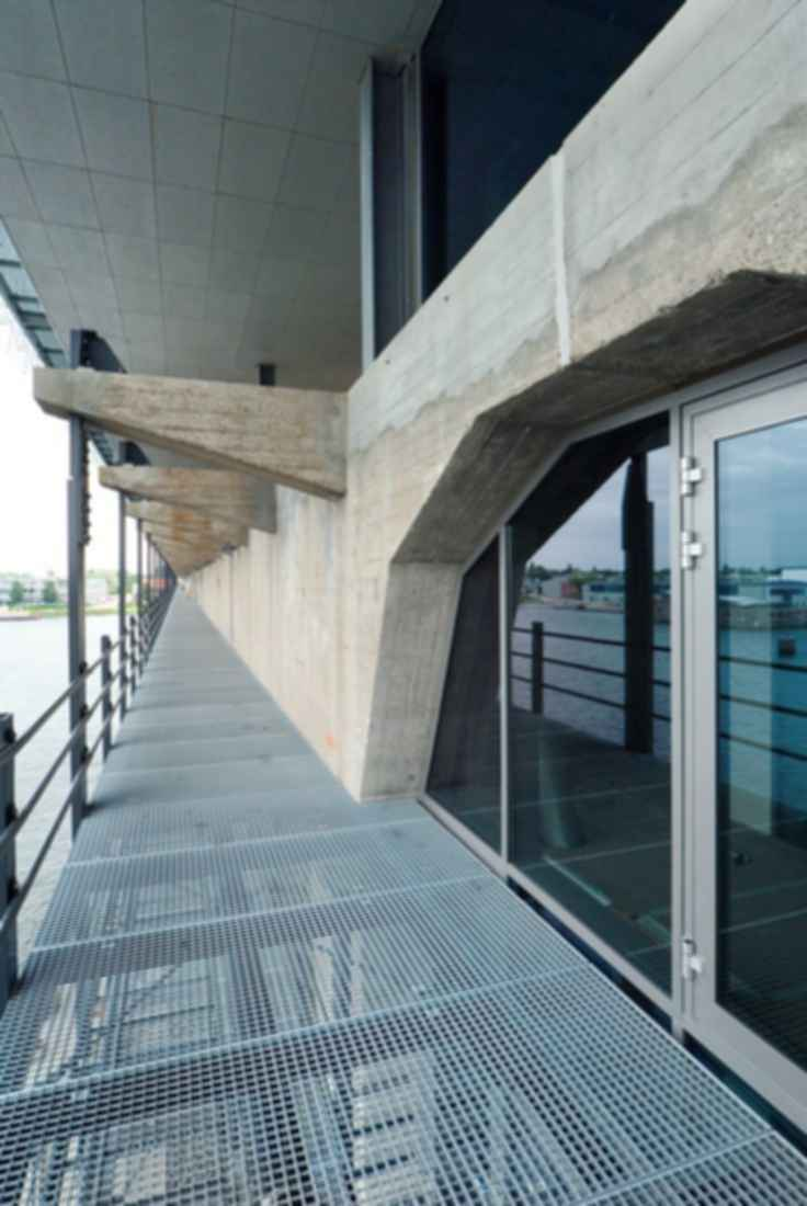 Kraanspoor Office Building - Exterior Balcony