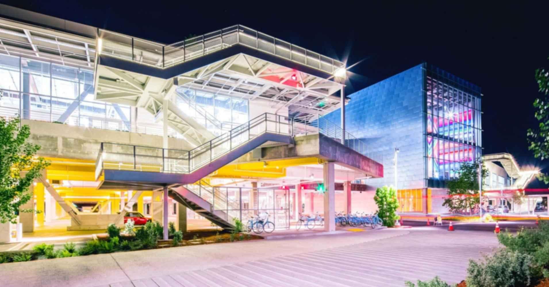 Facebook Headquarters - Exterior Night