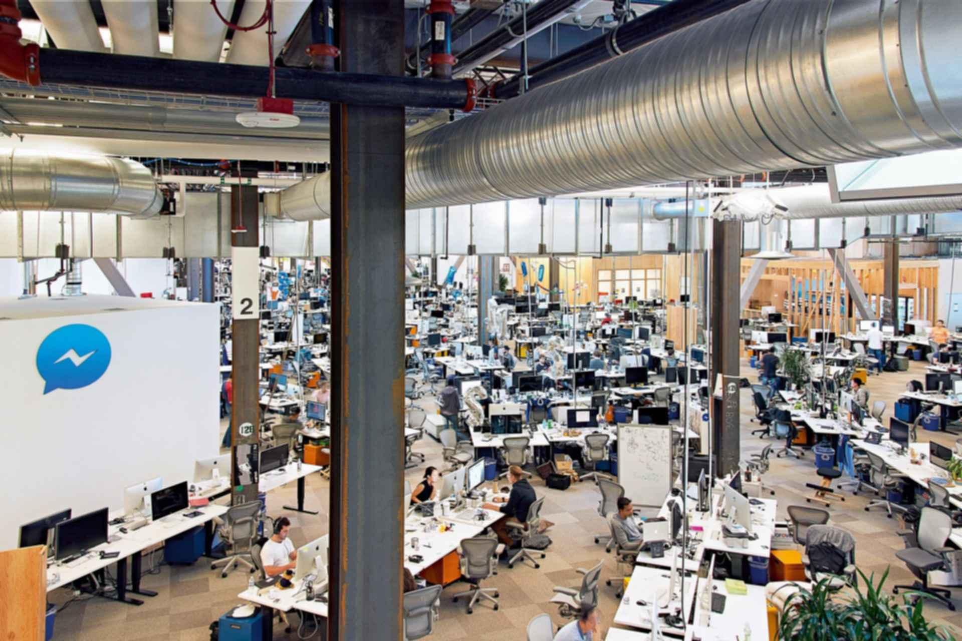 Facebook Headquarters - Interior