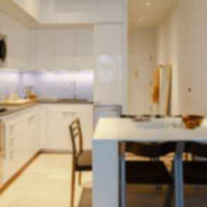 Carmel Place (NYC's First Micro-Apartment Tower) - Interior/Kitchen/Dining Area