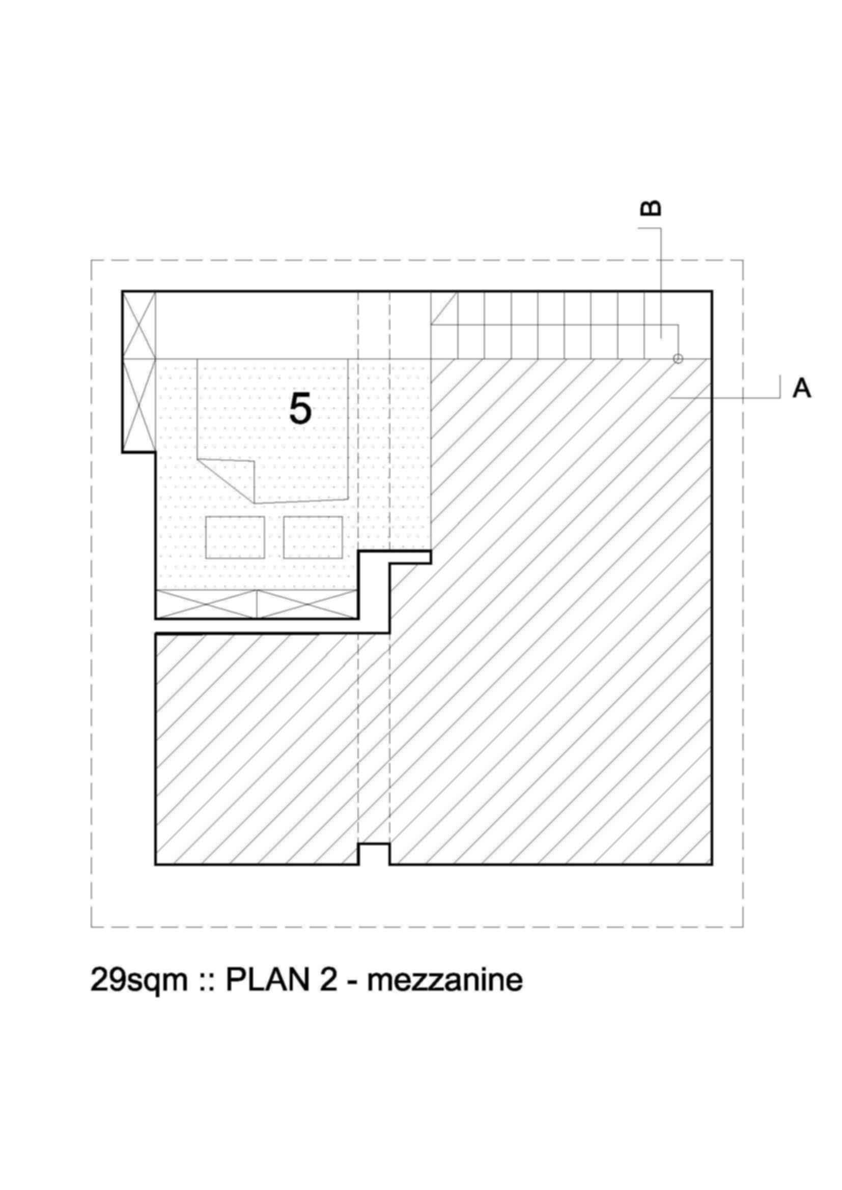 312 sq. ft - Floor Plan