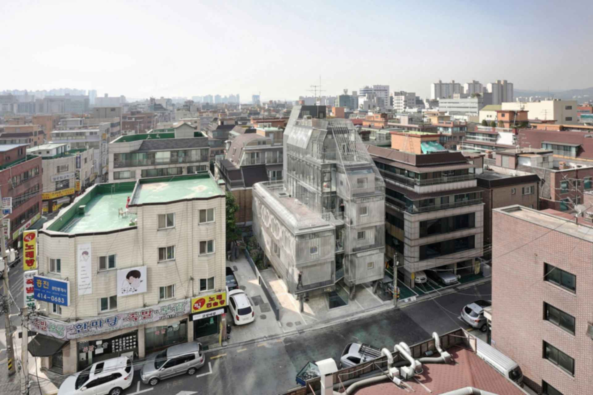 Songpa Micro Housing - Exterior/Landscape