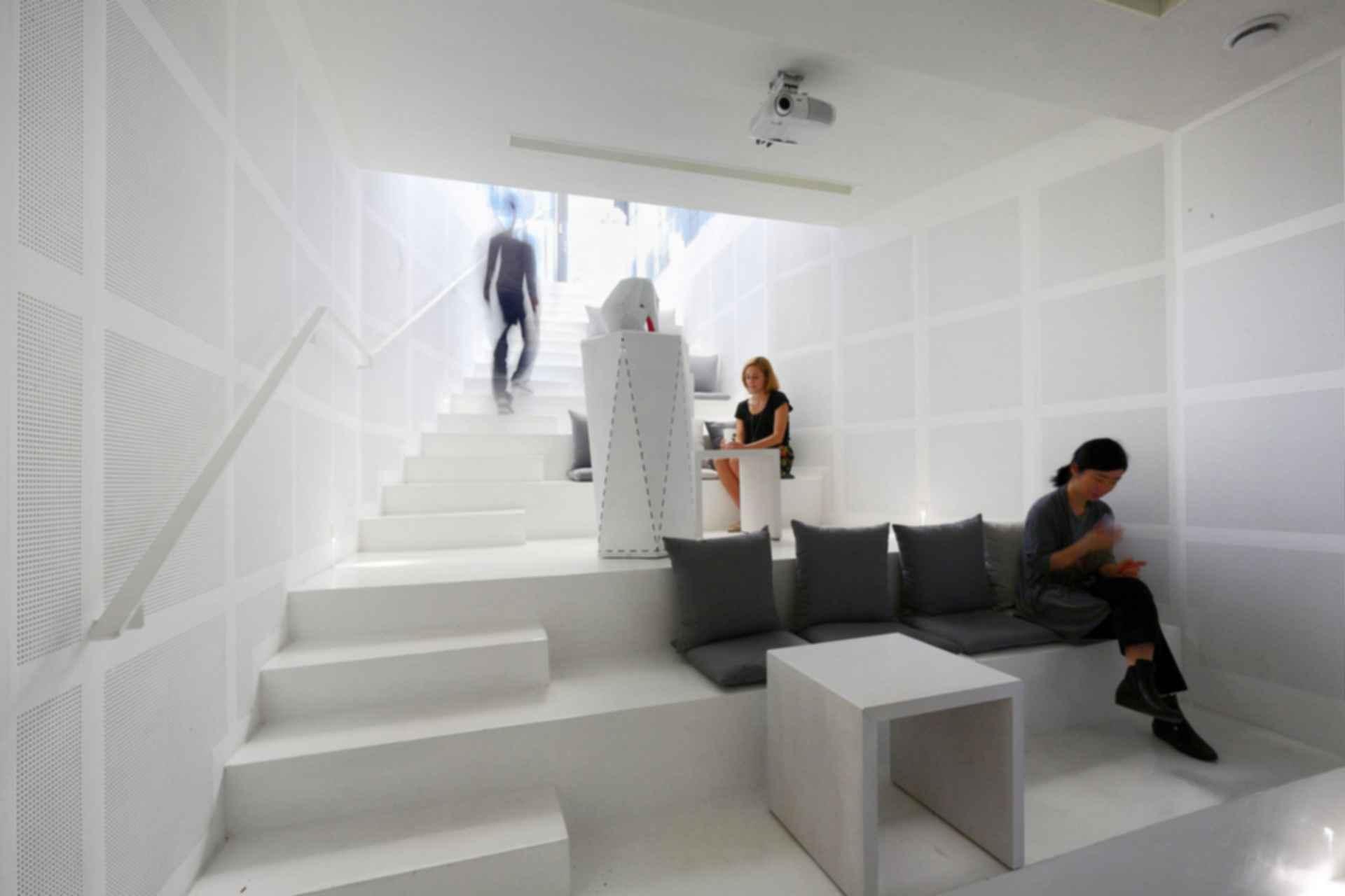 Songpa Micro Housing - Interior/Stairs